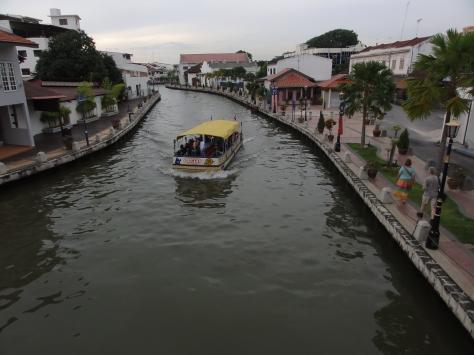 Melaka River.